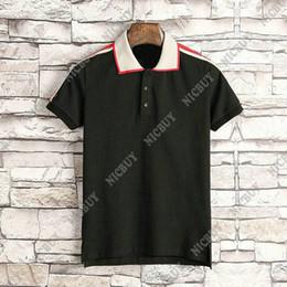 Stili di abbigliamento per uomo online-t-shirt da uomo casual con marchio di design estivo polo polo in stile classico con ricamo in tessuto t-shirt con stampa lettere t-shirt casual