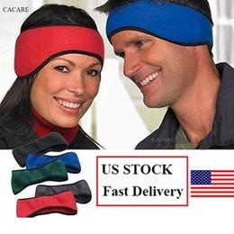 US STOCK 2pcs / lot - Cache-oreilles en molleton chaud pour adultes Vente au casque - Casques d'hiver - Cache-oreilles - Cache-oreilles 4 choix - Bandeaux ? partir de fabricateur
