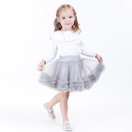 prinzessin kleider für das alte mädchen Rabatt 3-8 Jahre altes Sommerbaby feste Farben Tutu Röcke Mädchen Tanzrock Prinzessin Kleid Babykleider