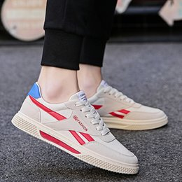 cloth breathable shoes Promo Codes - Breathable Cloth Shoes Summer Mens Casual Fashion Canvas Shoes for Students Daily Dress Rubber Soft Sole Elegant Leisure Shoe