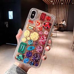 2019 étuis élégants iphone 6s Mytoto Élégant diamant flash flash cas de sandbox pour iphone 6 6s 7 8 plus 3d plage de couverture doré dynamique coquille dure pour iphone x xs max xr étuis élégants iphone 6s pas cher