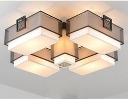 Plafoniere Quadrate In Tessuto : Sconto classico soffitto illuminazione