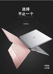 tablet pc 8gb Desconto Laptop Super Fino Avião Legal PLUS H8 de Metal Portátil Laptop Luz Estudante Portátil Menina Rosa de 14 polegadas Novo Ultrapolar Escritório Livro de Negócios 20