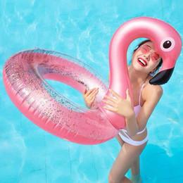 o anéis de água Desconto 6 O mais recente inflável anel de natação flamingo suprimentos de Água Espessada PVC lifebuoy A melhor qualidade bem-vindo atacadistas para comprar