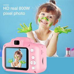 Crianças mini câmera crianças Brinquedos Educativos para Crianças Presentes do bebê presente de aniversário Digital Camera 1080P Projection Video Camera de