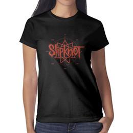 2019 футболка оптом Heavy Metal Band Slipknot Music Женская футболка черные рубашки Пользовательские футболки Графические футболки Христианская оптовая рубашка черная скидка футболка оптом