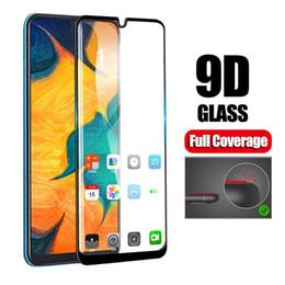 2019 tela samsung s7262 2 pcs 9D cola completa Samsun a50 vidro para samsung galaxy a70 a40 a30 a50 a50 vidro de proteção no galax um 50 30 40 70 50a 30a 70a film