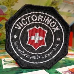 llavero auto táctico Rebajas 6 * 6 cm Victorinox Cosa en la etiqueta engomada del paño de las tácticas del ejército suizo del Applique del parche