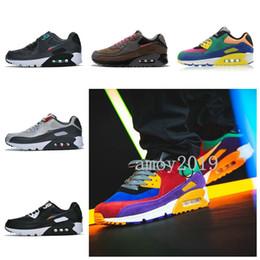 Regenbogenseite online-2019 Be True Rainbow 90er Jahre Viotech Herren Laufschuhe Classic Side B Damen 90 Designer Sportschuhe Des Chaussures Betrue Sneakers 36-46