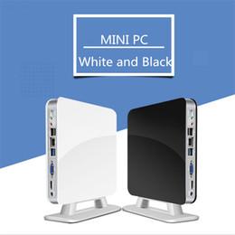Mini pc i3 en Ligne-Mini PC Micro-ordinateur HTPC Ordinateur personnel PC personnel Intel J1800 J1900 Cinéma personnel I3 I5 I7 Ordinateurs centraux en option