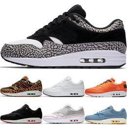 wholesale dealer 6a5fe 834dc New 1 Mens Low Laufschuhe Premium Jewel Mini Damen Leopard Freizeitschuhe  87 Man Atmos University Schwarz Weiß X 1 Designer Sneakers