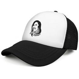 Canada Cardi B Shmoney Ayyyy noir casquettes de camionneur cool hommes et femmes équipée casquette maille de luxe Chapeaux de camionneur plat Bill supplier black flat bill hats Offre