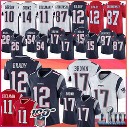 Rob on-line-12 Tom Brady Jerseys Patriot 87 Rob Gronkowski 11 Julian Edelman Stephon Gilmore10 Josh Gordon 54 Bruschi Hogan Sony Michel Antonio Brown