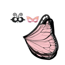 Canada Mignon Papillon Cape Masque Bande De Cheveux Headwear Event Party Costumes Pour Enfants Holloween Stage Porter En Plein Air Jeux Enfants Mascot Tendances cheap event bands Offre