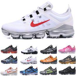 nike Vapormax air max 2019 Run Utility Mens Designer Sneakers Chaussure Zapatillas Utility Tn Running Shoes 97 270s Uomo Sport walking Trainers Taglia Eur40-46 da scarpe da partito di nuziale blu navy fornitori