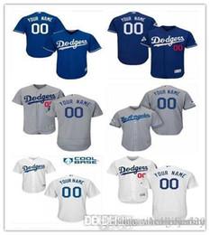 мужской личный Скидка ПОЛЬЗОВАТЕЛЬСКИЕ Ls As Dodgers Мужские Женщины Молодежные Индивидуальные трикотажные изделия для бейсбола с вышивкой Majestic Личное имя Персональный номер РАЗМЕР S-XXXL