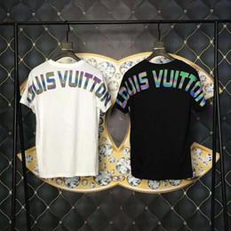 2019 chicos rock tees 2019 moda italia lujo 5D camisetas con estampado de reflexión mujeres medusa camisetas camisas casual camiseta tops hombres 5d diseñador camisetas