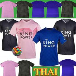 camisetas de fútbol de calidad tailandesa ee. Rebajas Tailandia 19 20 Leicester Maddison MAGUIRE para hombre de fútbol jerseys MORGAN Vardy GRIS Ndidi hogar lejos camisas del fútbol de la ciudad de Nueva IBOEEA manga corta