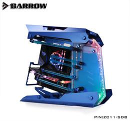 asus e motherboards Desconto ZC11-SDB Barrow watercooling Waterway Board para Zidli 11 computador case compatível MSI / ASUS / GIGABYTE / ASROCK SYNC motherboard