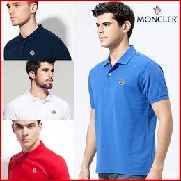 Deutschland Hot 2019 reduzierte Polo-Shirt Männer Kurzarm T-Shirt Marken London New York Chicago Polo-Shirt Männer Günstige Qualität Freies Verschiffen Versorgung