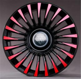 Ruedas de 35mm online-La modificación del automóvil es adecuada para la mayoría de los automóviles Diamante modificado de 4 generaciones Llanta de 18 pulgadas / 19 pulgadas