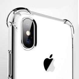 couvertures alpha de galaxie Promotion Ultra Mince Clair Transparent TPU Étui En Silicone Pour iPhone XS 7 8 Plus protéger en caoutchouc cas de téléphone pour iPhone X