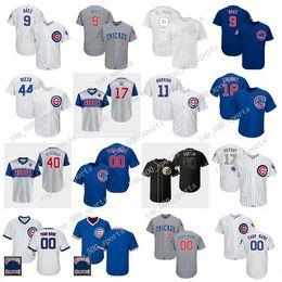 2020 jon lester jersey Personalizzato Jersey Javier Baez Anthony Rizzo Kris Bryant Kyle Schwarber Willson Contreras David Bote Jon Lester Jersey di baseball jon lester jersey economici