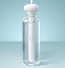 Blanc démontable Humidificateur D'air Donuts USB Purificateur Aroma Diffuseur De Voiture Mist Maker bouteille d'eau minérale Humidificateurs Diffuseurs GGA1882 ? partir de fabricateur