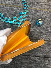 2019 парижский монетный кошелек Новый высокое качество Париж стиль мужчины женщины ключевой мешок мода корейский Гойя короткий почтовый кошелек компактный кошелек для монет положение карты элегантный GY кошелек скидка парижский монетный кошелек