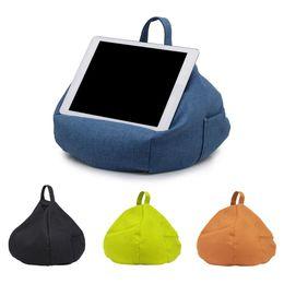 Cuscino per tablet per laptop Cuscino per cuscino per tablet in lino Supporto per tablet per cuscino Imitazione cuscino per auto casa Ipad cheap imitation tablet da tavoletta d'imitazione fornitori