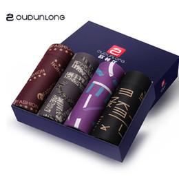 G diseño de letras online-2018 G Moda Hombre Ropa interior Boxers Algodón 5 Color L-XXL Carta transpirable Calzoncillos Pantalones cortos Diseño de marca de lujo Cuecas Cintura ajustada