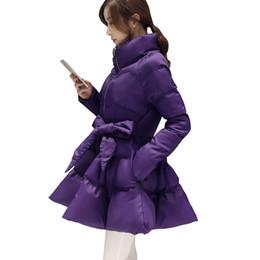a26d14e236d09 Women Down Jacket Winter Coat Korean Plus Size Long Duck Down Parka Student  Sashes Thick Warm Cotton Coat Fashion Female Jacket