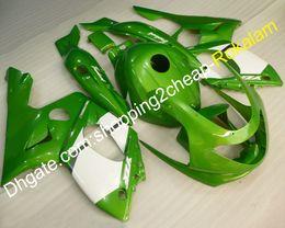 Argentina YZF 600R verde blanco carenado de la motocicleta para Yamaha YZF600R Thundercat 1997 1998 1999 2000 2001 2002 2003 2004 2005 2006 2006 2007 Suministro