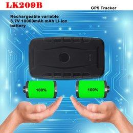 forma de antena Desconto Localizador de rastreamento em tempo real 3G Car WCDMA GPS Tracker Locator Tracking LK209B-3G Long Standby Time One way communication Magnetic