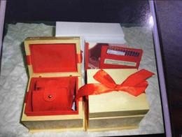 holzuhr-logo Rabatt Luxusuhrenbox Herrenuhren Boxetaschen mit Logo Top-Marke om-ga Uhr Holzbox