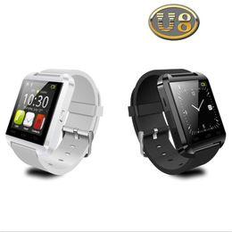U gps guardare online-U8 Bluetooth Apple Smart Watch U Orologi da polso WristWatch Multifunzione Smartwatch per iPhone Samsung HTC Android Phone Smartphones