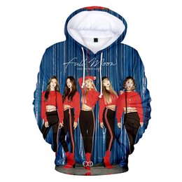 2020 bande hoodies 4xl Nouveau 3D Hoodies Mode Imprimer EXID idole Sweats Hommes / Femmes Casual Hoodies Band EXID 3D Printemps Lâche Sweats Taille XXS-4XL bande hoodies 4xl pas cher