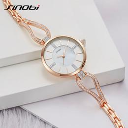2019 relógios a quartzo Sinobi mulheres relógios pulseira de diamante assistir mulheres elegantes senhoras meninas relógio de pulso de quartzo vestido feminino relógios presente relógios a quartzo barato