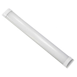 Lampade a soffitto fluorescente online-T8 Tube 2FT 3FT 4FT Explosion Proof Two LED Tube Lights Replace Fluorescent Light Fixture Ceiling lighting Grille Lamp
