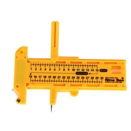 desenho de compasso Desconto Kit de ferramentas de desenho prático bússola faca de corte colhida rodada ferramenta de desenho de madeira rodada ferramenta de mão conjunto de bússola