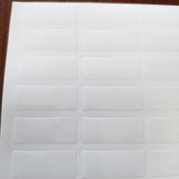 15000pcs 25x10mm adhesivo de vinilo de PVC transparente para sellado de bolsas o cajas, 0.05 mm de espesor, artículo No. OF02 desde fabricantes