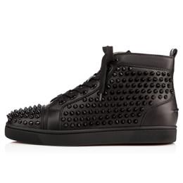 meet 84f36 c5744 amanti delle scarpe da ginnastica Sconti 2019 Nuovo marchio di marca  Studded Spikes Flats shoes Bottom