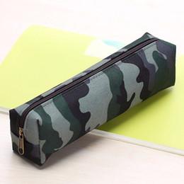 Высокий камуфляжный макияж онлайн-Fashion Unique High-capacity Camouflage Printing Travel Pencil Pen Bag canvas Case Pouch Cosmetic Makeup Bag Gifts