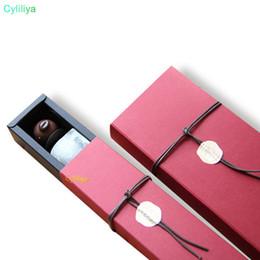 papier de velours en gros Promotion 100pcs rectangle rouge 12 cavités trous boîte d'emballage pour la boîte de cadeau de bonbons au chocolat de la Saint Valentin