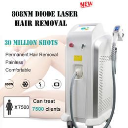 machines d'épilation de laser de salon Promotion Alexandrite 755nm 808nm 1064nm diode laser pour Indolore Hair Removal Machine Salon de beauté 808nm Diode Laser corps médical Épilation