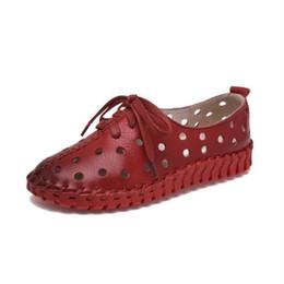 0d0d81f819 2019 calçados novos moda solas grossas Casual sapatos de couro genuíno das  mulheres New summer Hot