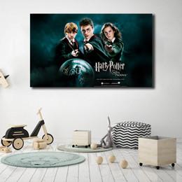 2019 peintures de phénix Harry Potter Et L'Ordre Du Phénix Sur Toile Photo Modulaire Peintures Pour Le Salon De L'enfant Affiche sur Le Mur Décor À La Maison promotion peintures de phénix