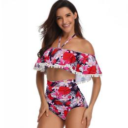 bretelle donna xl Sconti Costumi da bagno donna 2 pezzi bikini costume da bagno senza schienale bretelle top vita alta triangolo pantaloni costume da bagno beachwear abbigliamento donna S-XL A216