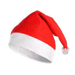 Cappello rosso di Babbo Natale Ultra morbido peluche Natale Cosplay Cappelli Decorazione natalizia Adulti Cappellini natalizi LX7473 da parrucche per i colori delle donne fornitori