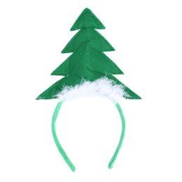 estrelas headbows christmas Desconto 2 pcs Crianças Crianças Árvore de Natal com Estrela Acessório de Headband da Festa de Férias para o Desempenho de Palco da Festa de Férias A20